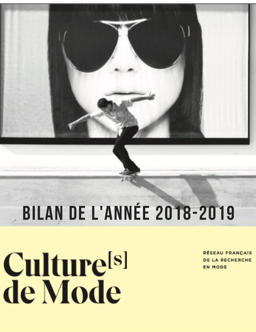 Bilan Culture(s) de Mode 2018-2019
