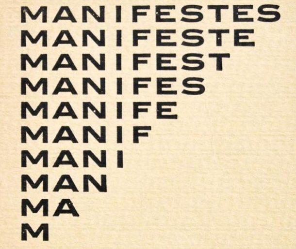 – Manifesto –